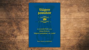 plakat_A3_Vaagvere-Pasunakoor-280