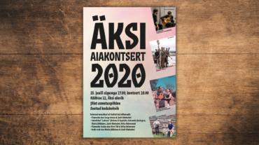portfoolio_Aksi-ajakontsert-2020_plakat